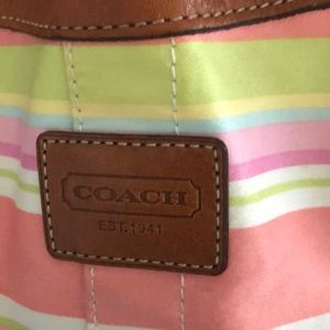 Colorful and fun Coach backpack